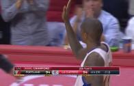 Jamal Crawford hits clutch game tying 3-pointer