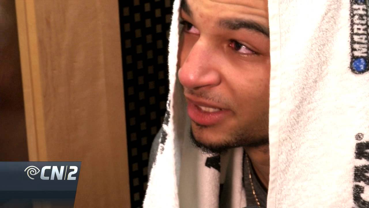 Jamal Murray emotional after Kentucky's loss to Indiana