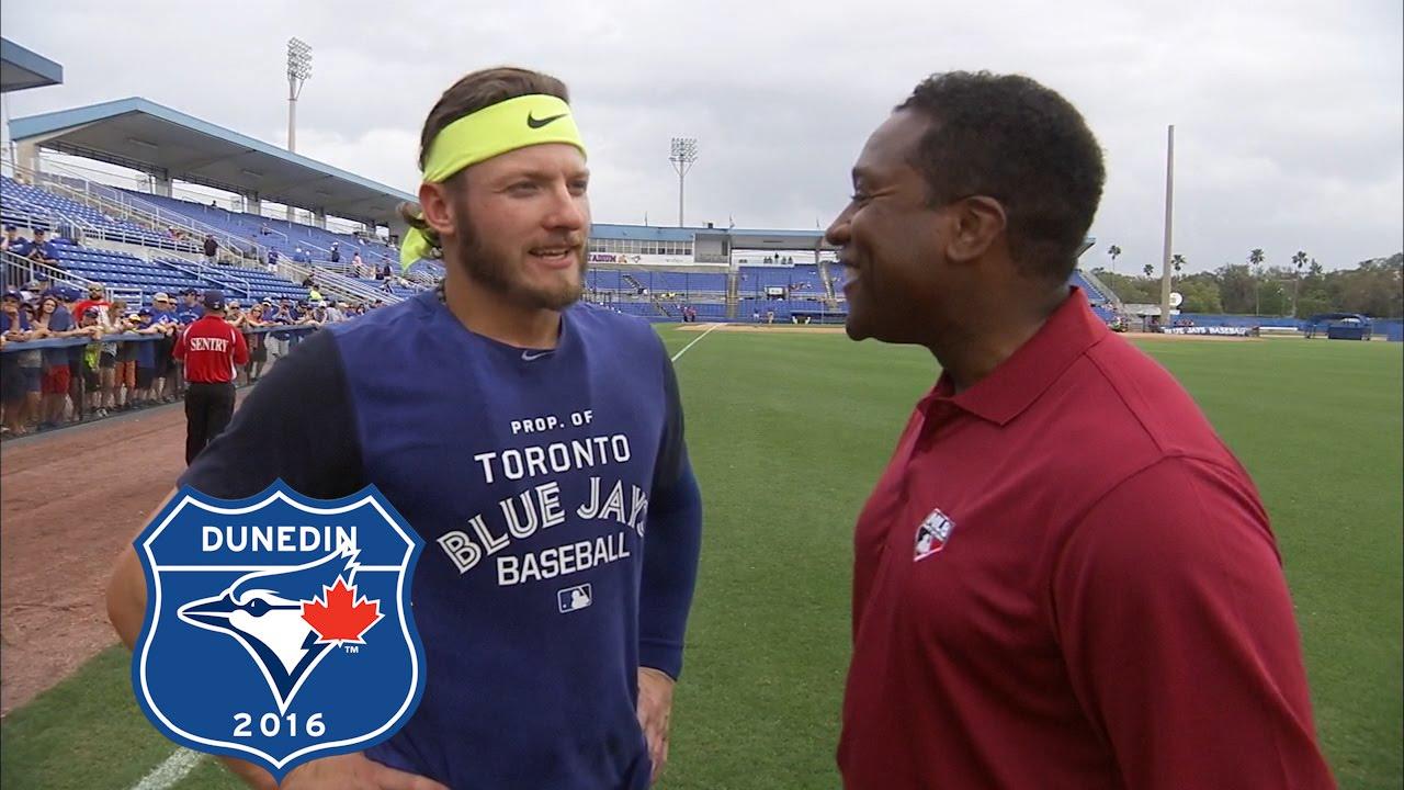 Jose Bautista & Josh Donaldson discuss the Blue Jays murderers row lineup