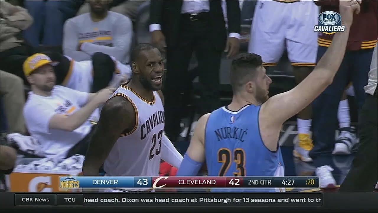 LeBron James gets revenge on Jusuf Nurkic