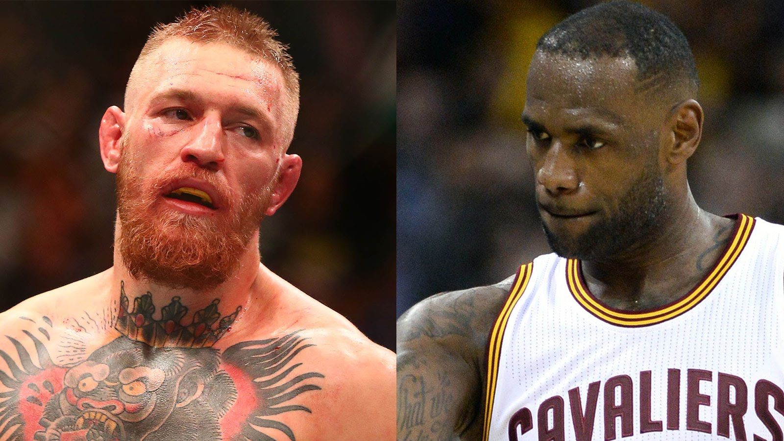 LeBron James words of encouragement for Conor McGregor