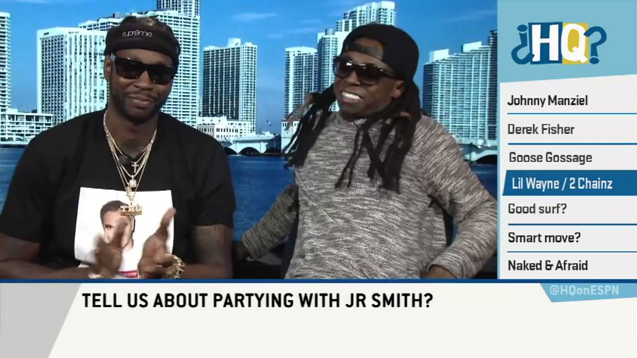 Lil' Wayne & 2 Chainz speak on crazy parties with JR Smith & JaMarcus Russell