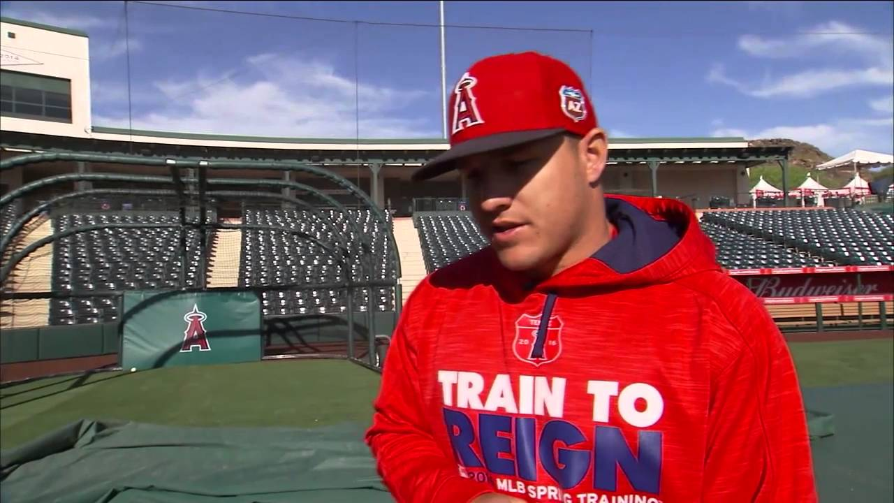 Mike Trout discusses his approach to hitting