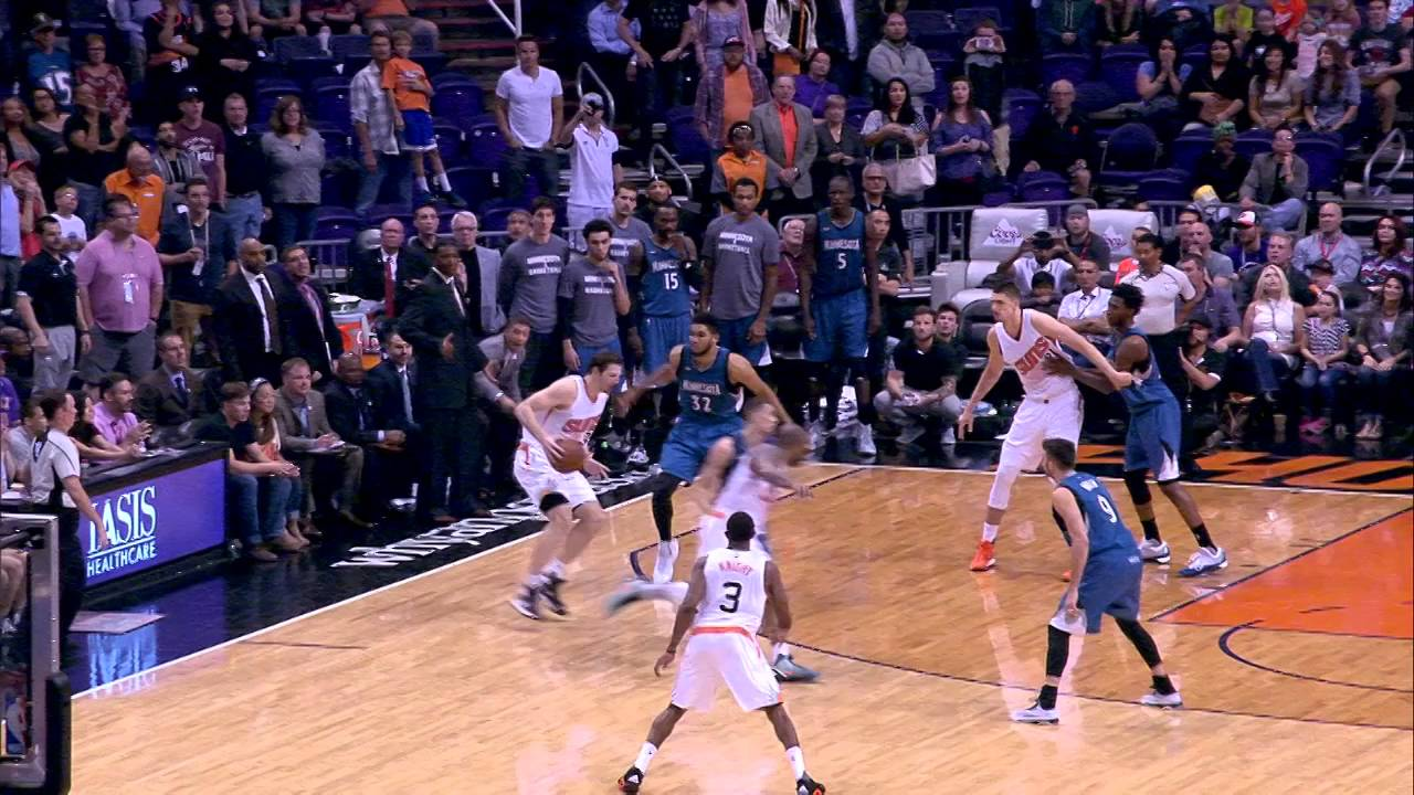 Mirza Teletovic hits game winning 3-pointer for the Suns