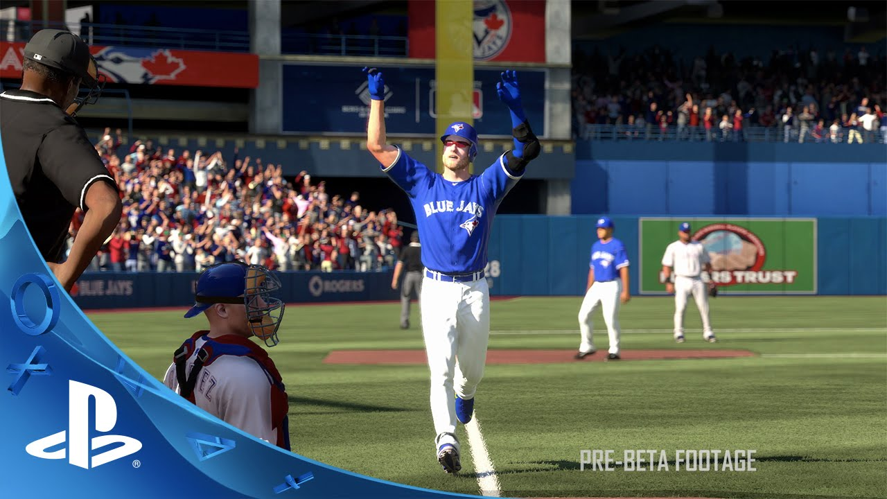 MLB The Show 16 in stores now (Promotional Trailer)