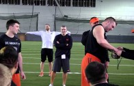 Orgeon State football surprises walk on with full scholarship