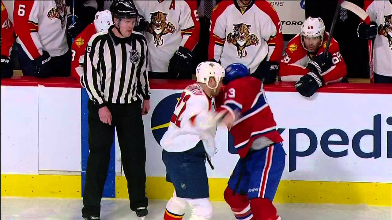 Panthers' Shawn Thorton pissed at refs for stopping fight