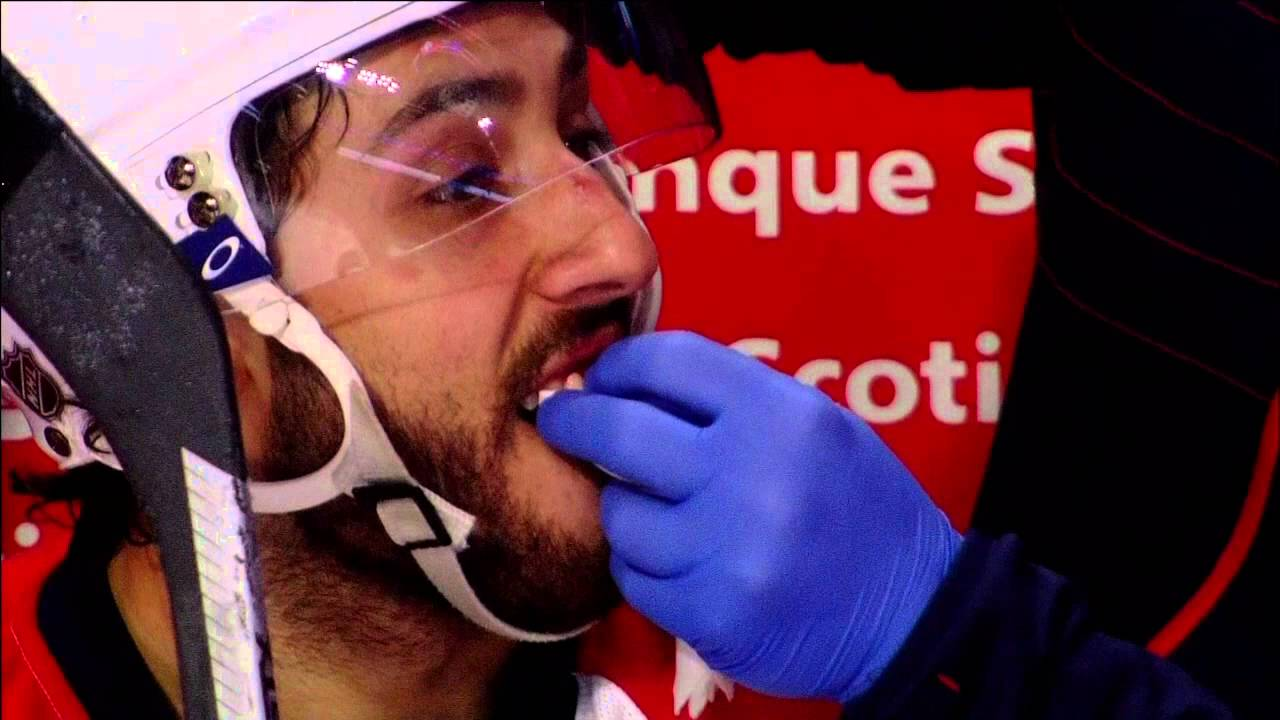 Panthers' Vincent Trocheck losses teeth after high stick