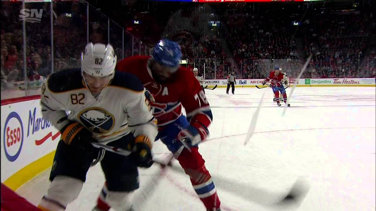 PK Subban stretchered off after collision