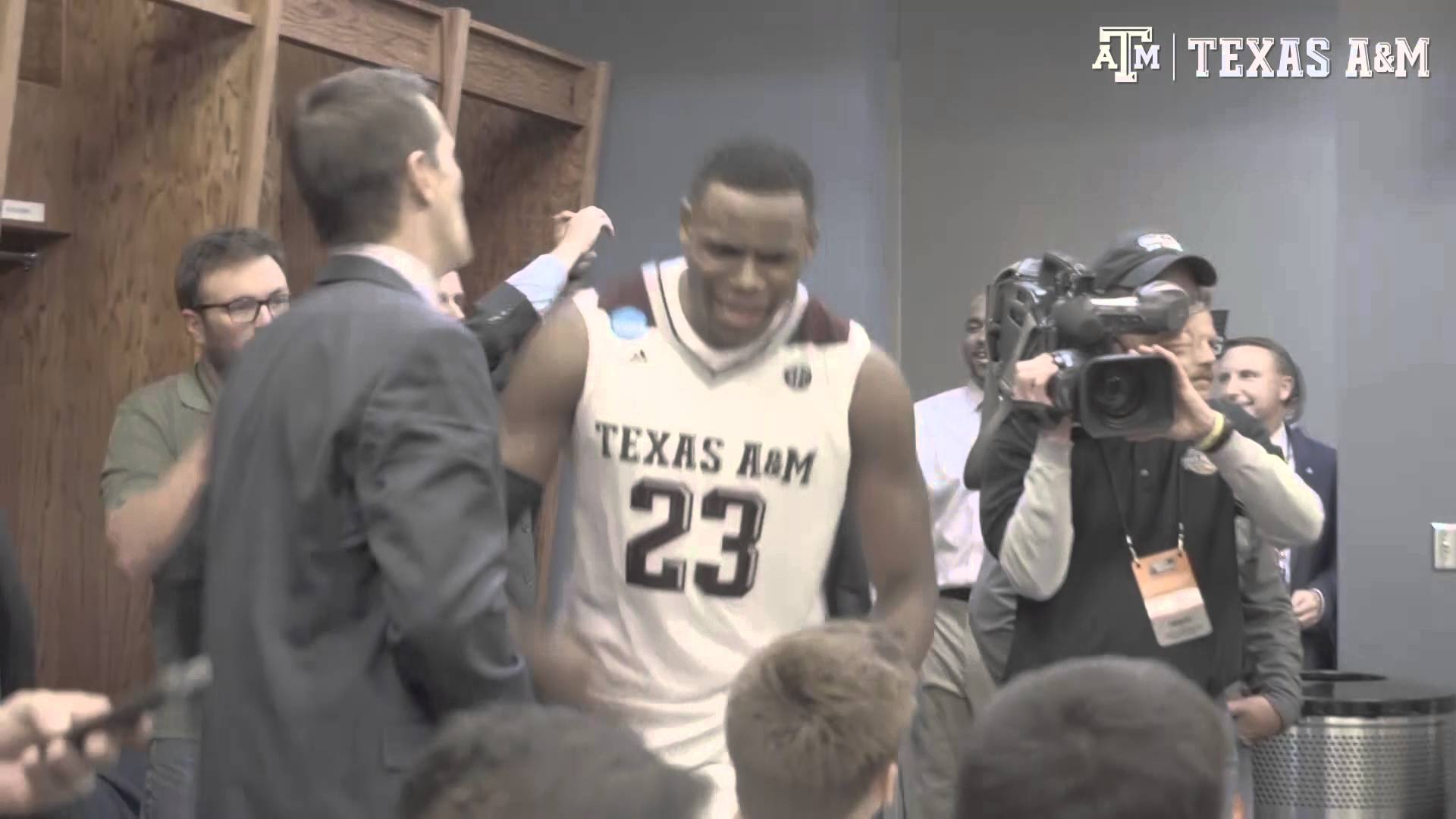 Texas A&M lit in the locker room after completing comeback win
