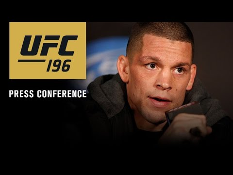 UFC 196 full press conference