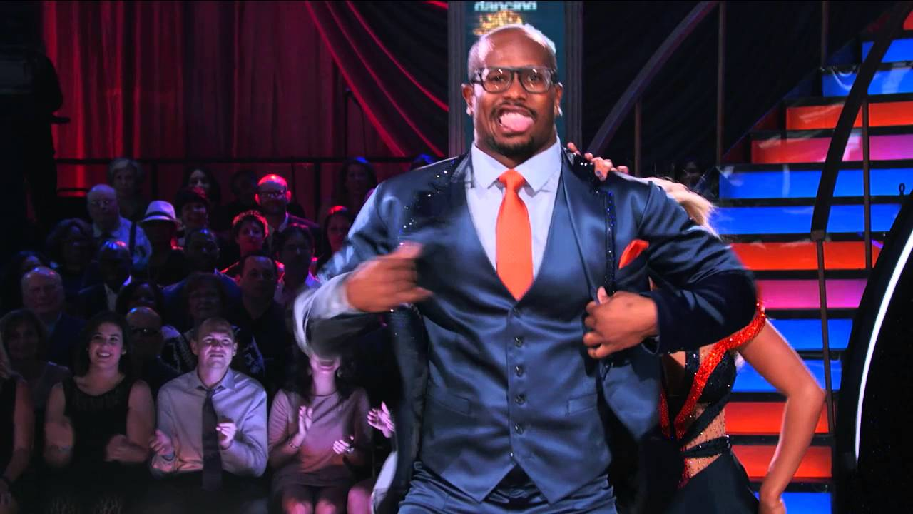 Von Miller busts his moves on Dancing With The Stars