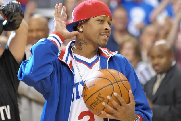Philadelphia 76ers honor Allen Iverson on being selected to Hall of Fame