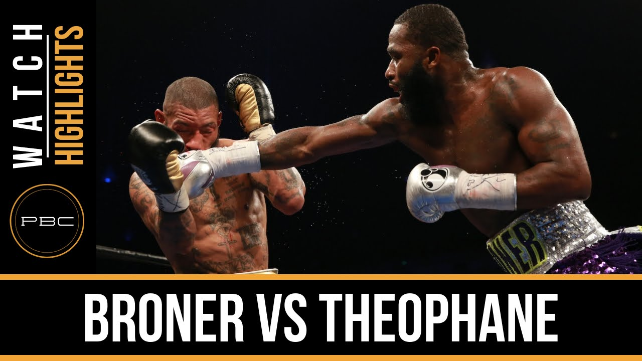 Adrien Broner knocks out Ashley Theophane by TKO