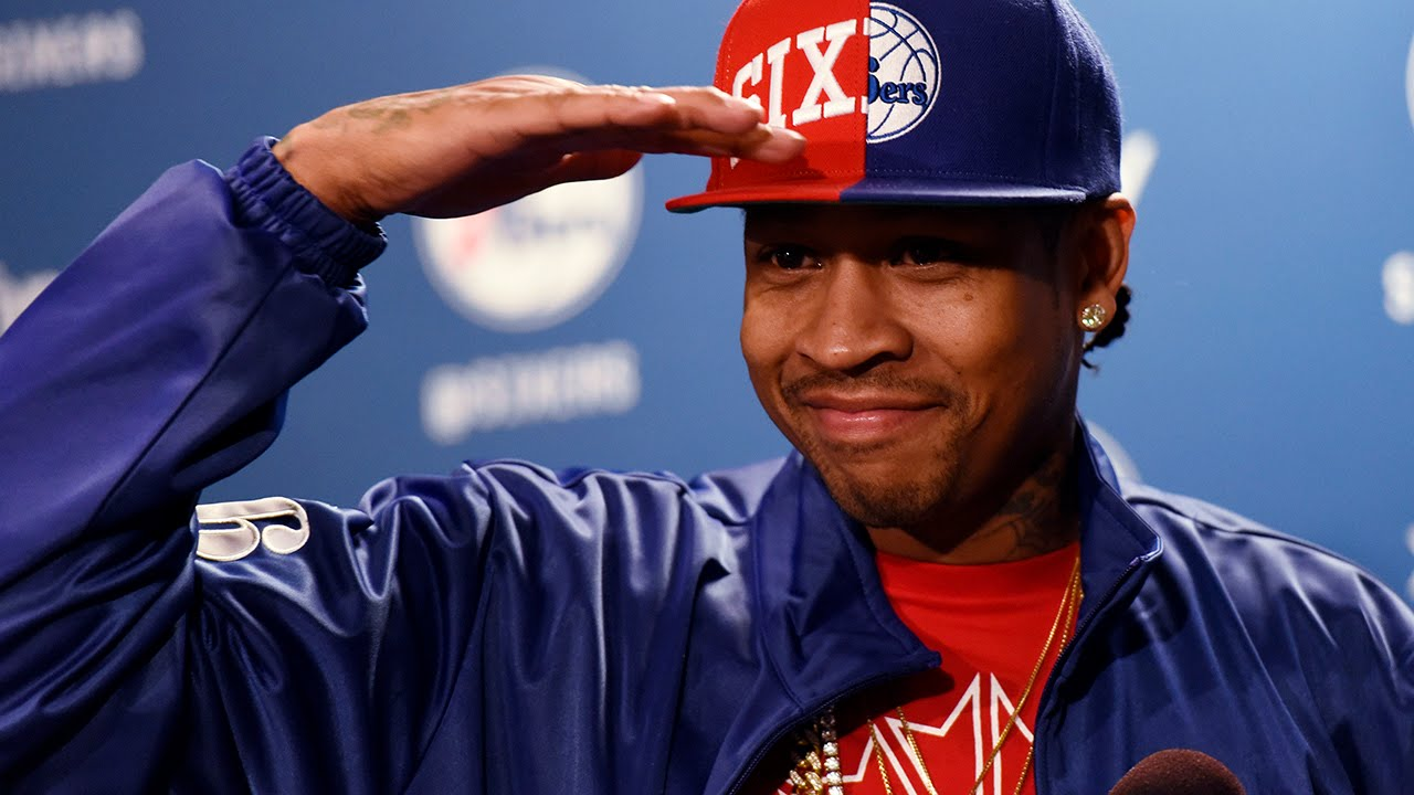 Allen Iverson's emotional & funny Hall of Fame press conference