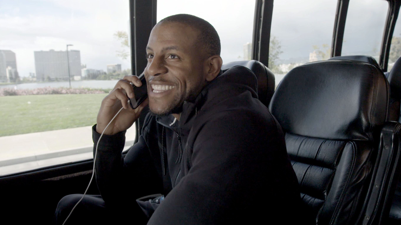 April Fools: Andre Iguodala pranks teammate Festus Ezeli into believing he was released