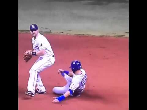 Blue Jays lose on controversial ruling of Jose Bautista's slide