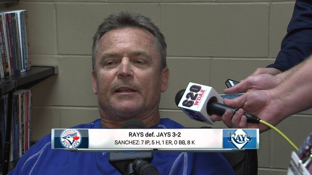 Blue Jays manager John Gibbons says Jays loss turned baseball into a joke