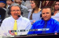"""Golden State Warriors announcer calls Spurs fans """"jerk offs"""""""