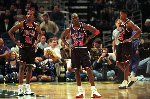 Scottie Pippen says 90's Bulls would sweep Warriors in 7 game series