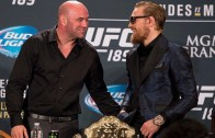 Dana White explains why Conor McGregor has been pulled from UFC 200