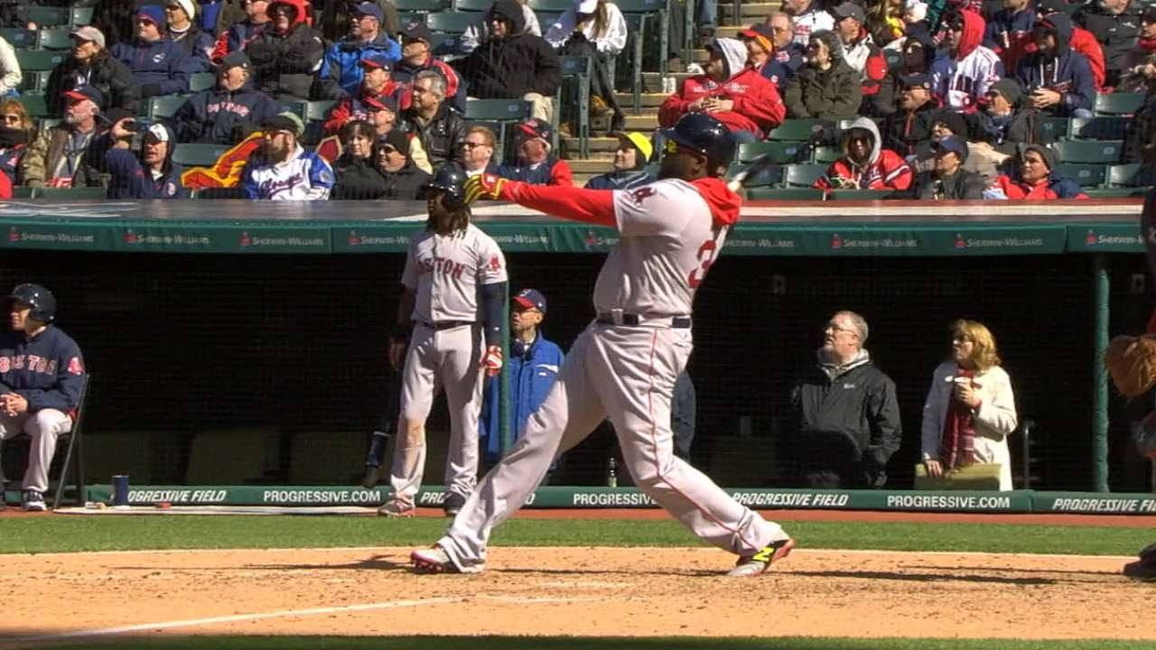 David Ortiz goes yard in the Red Sox opener