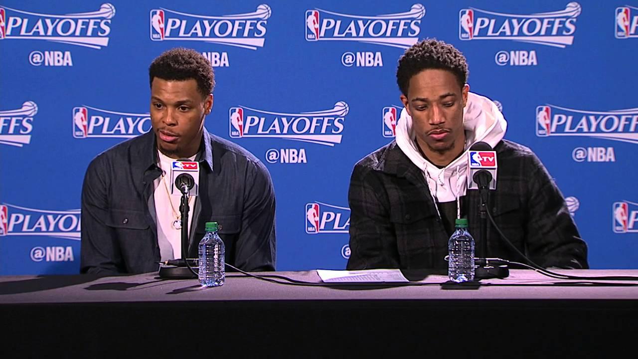 DeMar DeRozan, Dwayne Casey & Kyle Lowry speak on Raptors Game 1 loss