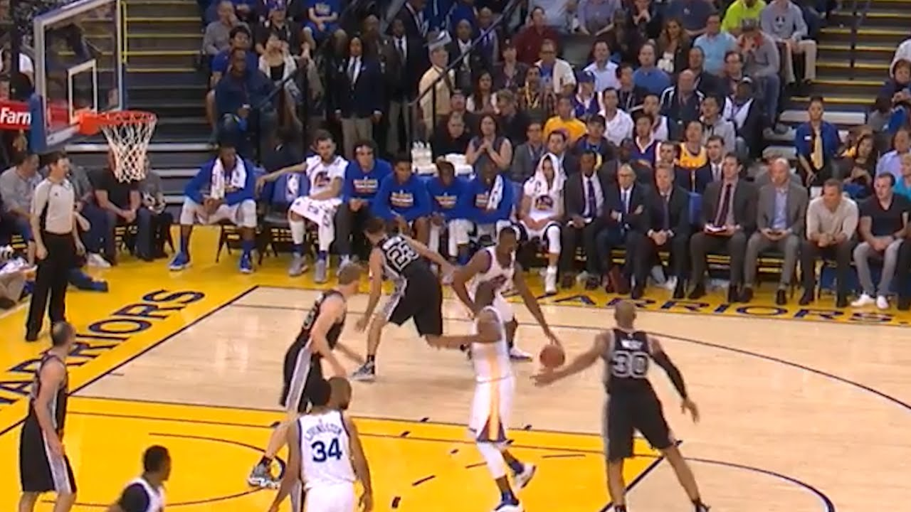 Harrison Barnes turns into a ghost according to Kevin Martin