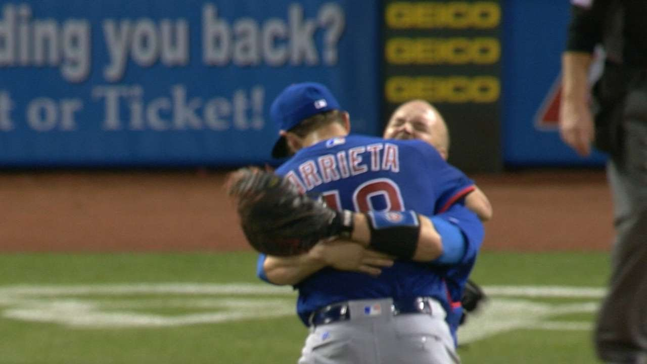 Jake Arrieta throws 2nd career no hitter vs. the Reds