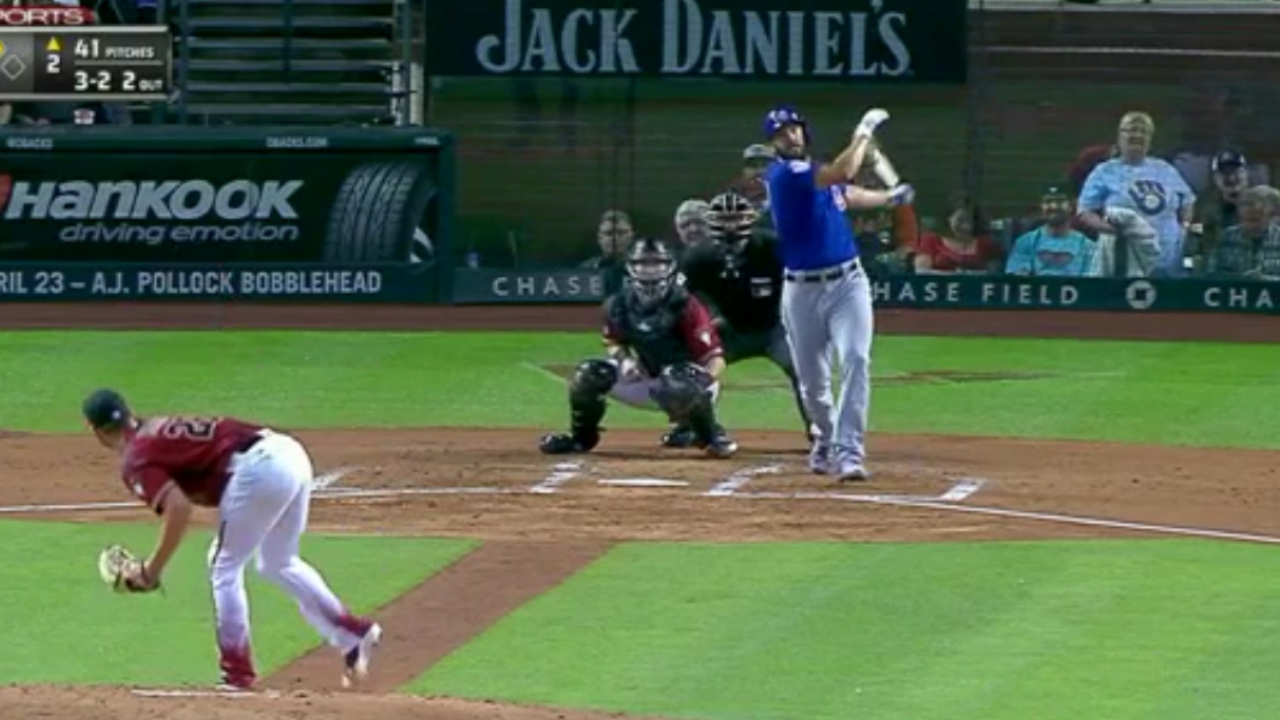 Cubs pitcher Jake Arrieta belts a massive two run homer