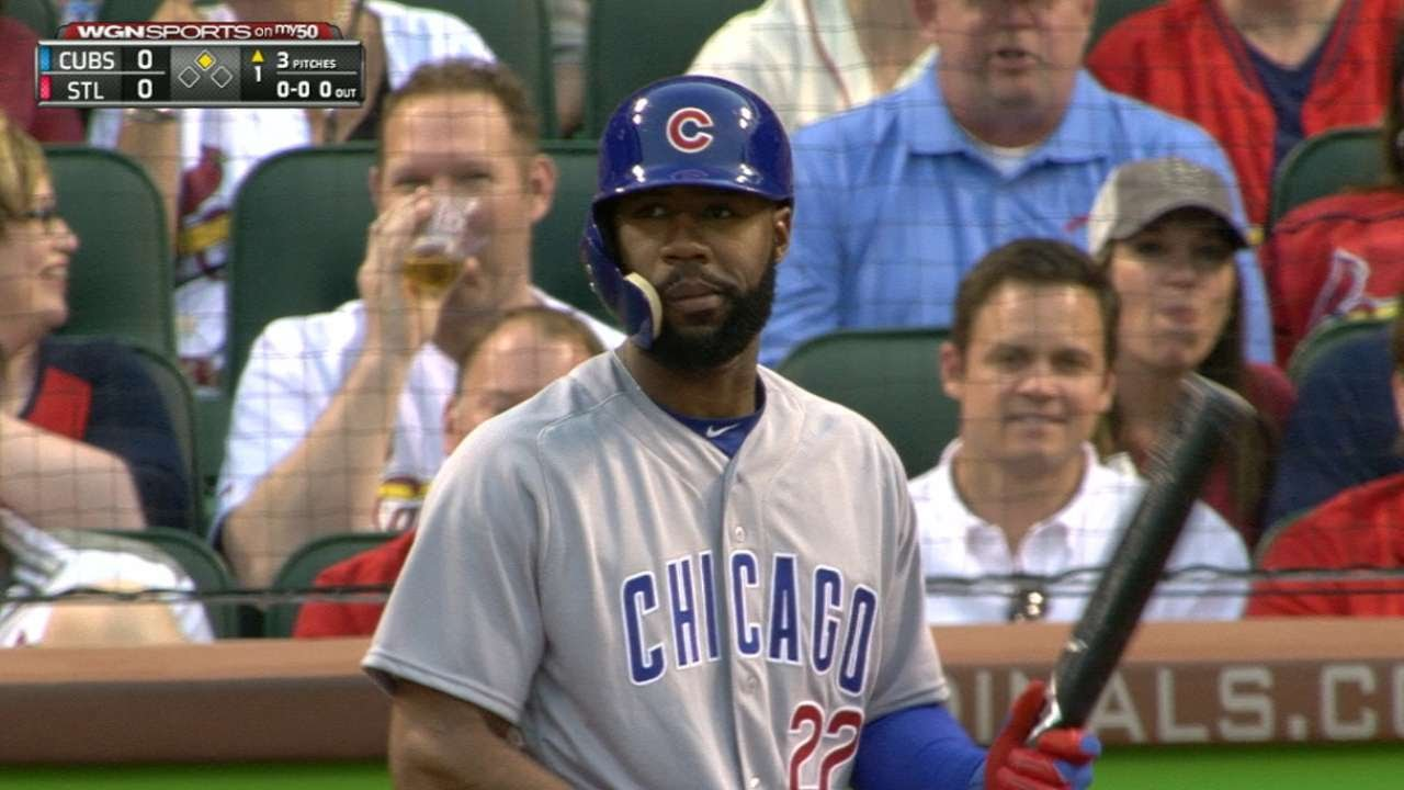Jason Heyward gets booed in his return to St. Louis