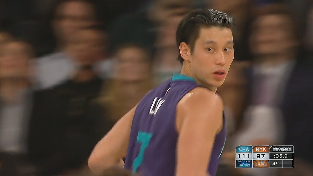 Jeremy Lin brings back Linsanity in New York with cross over 3-pointer