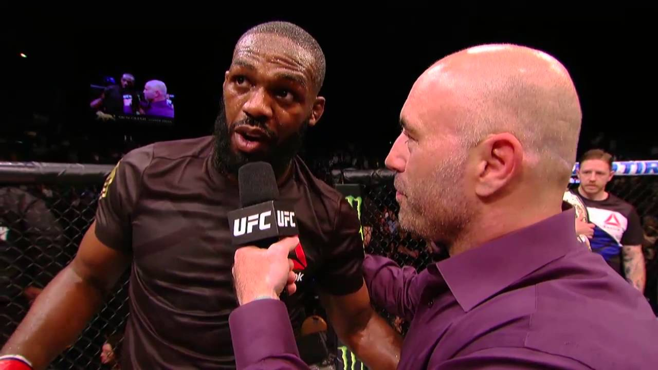Jon Jones' Octagon interview after his UFC 197 win