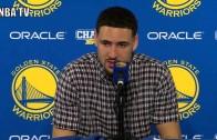 Klay Thompson speaks on Kobe Bryant's 60 point game