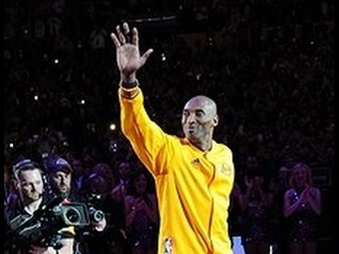 Kobe Bryant introduced one final time