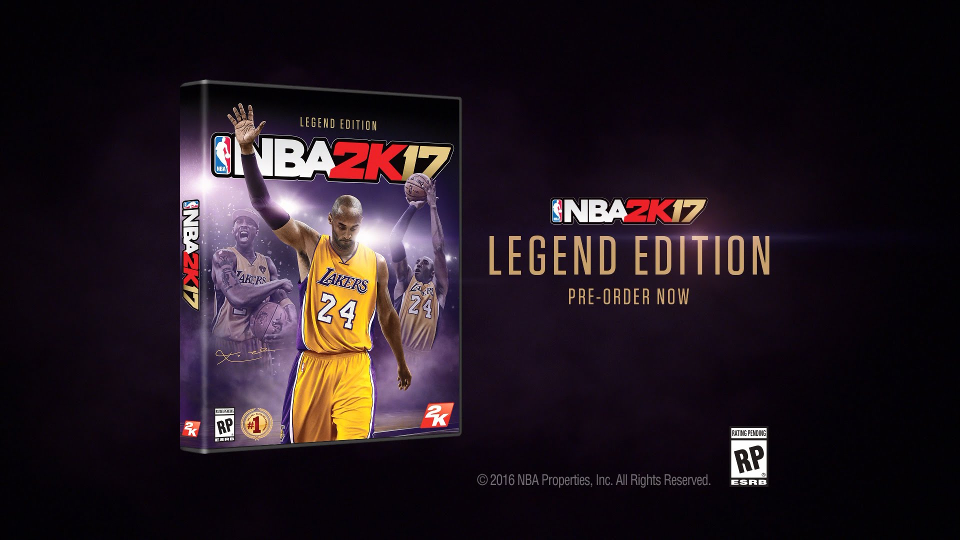 Kobe Bryant to appear on the cover of NBA 2K17