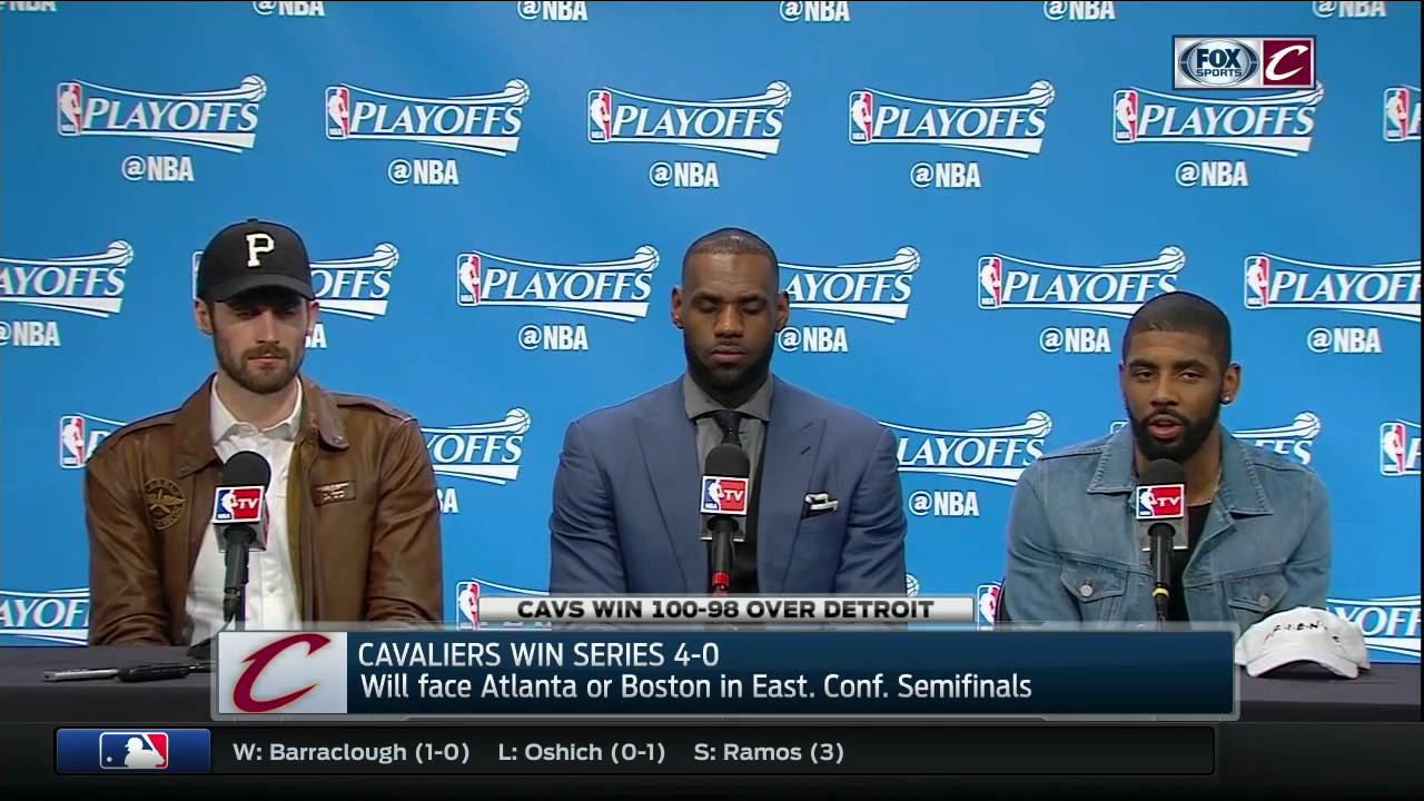 Kyrie Irving speaks on the growth of Cleveland's big 3