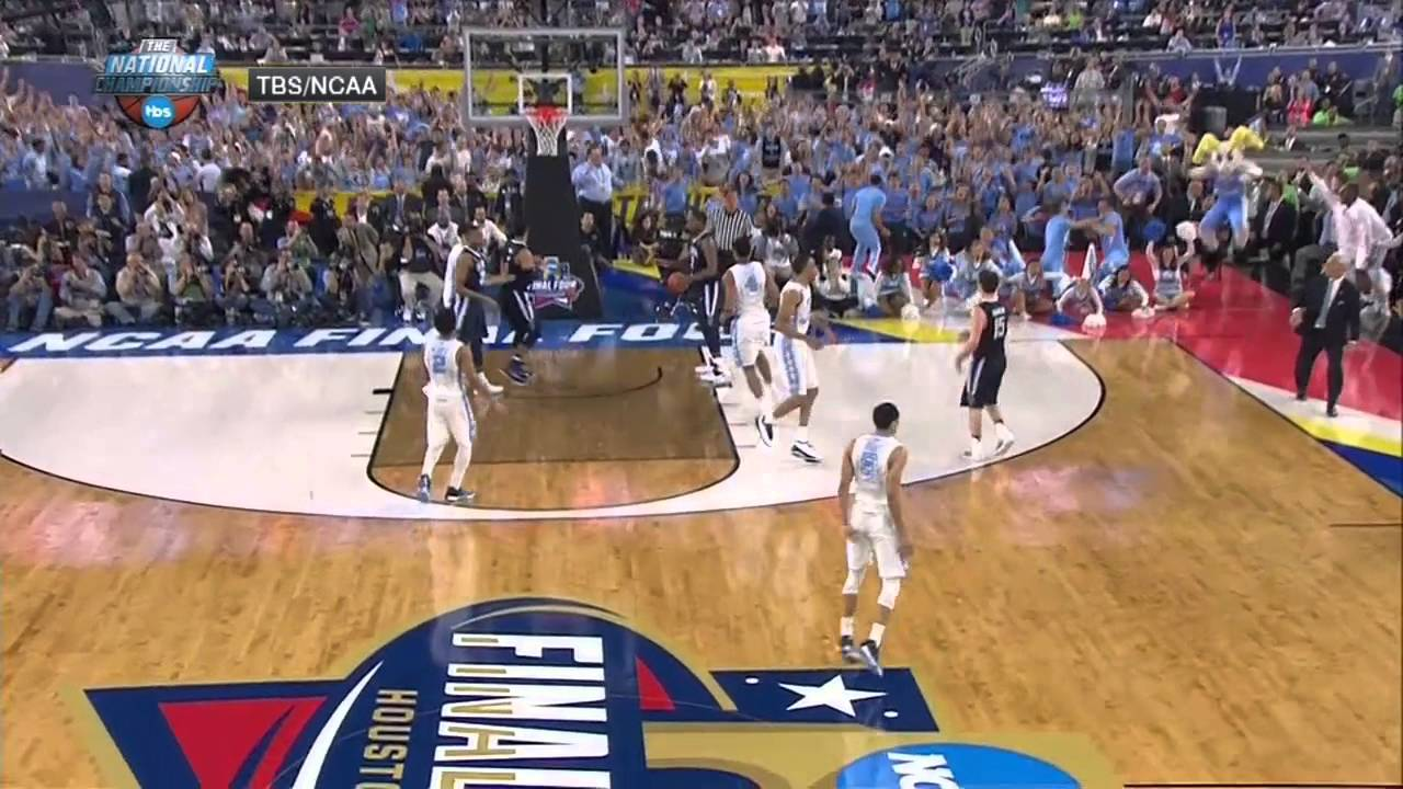 Marcus Paige hits unbelievable circus 3-pointer to tie