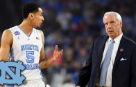 North Carolina coach Roy Williams emotional in post game press conference