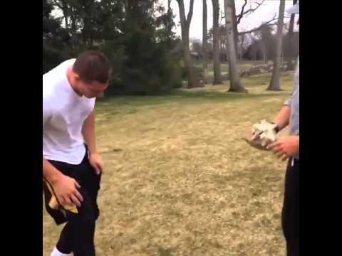 Rob Gronkowski answers Tom Brady's receiving call video