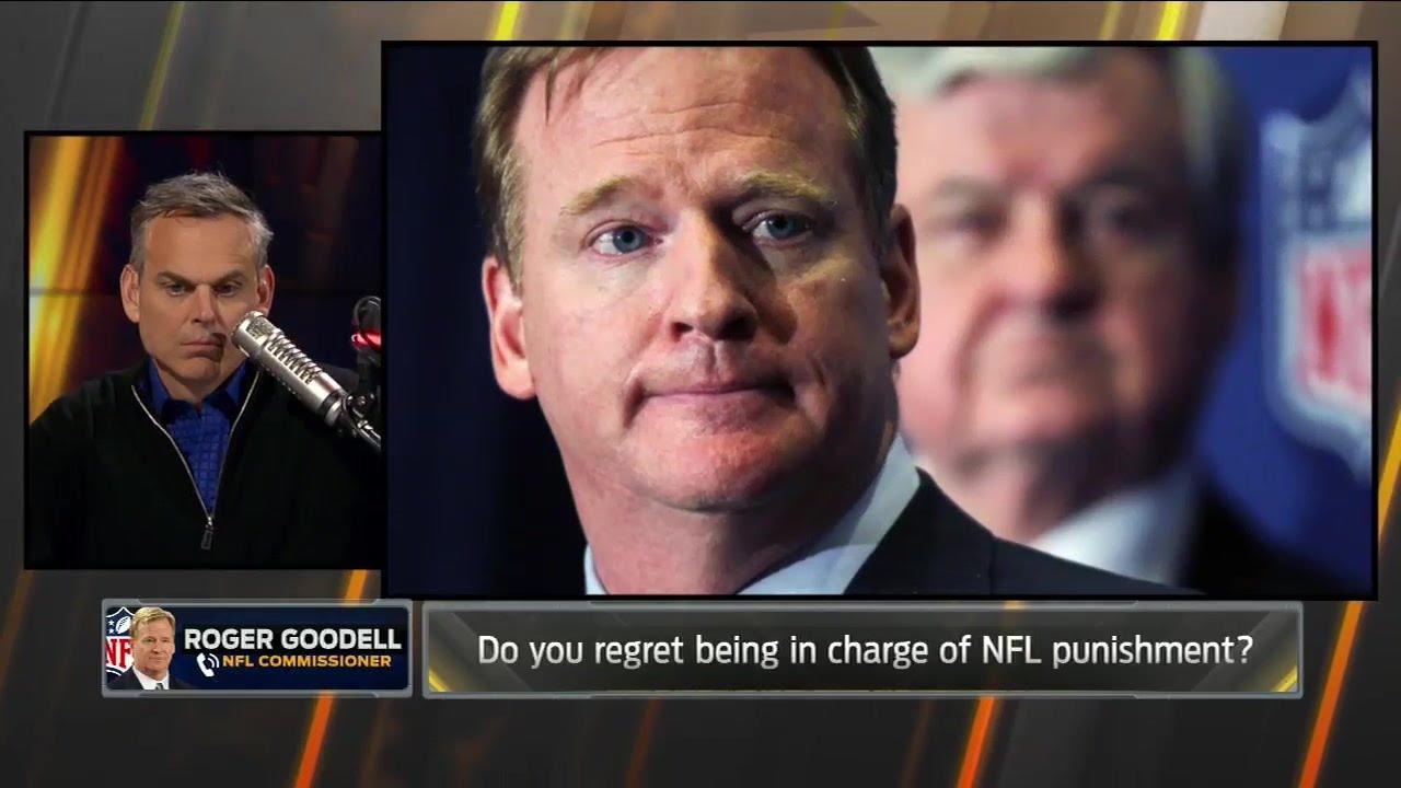 Roger Goodell speaks on Tom Brady's suspension & the Raiders in Las Vegas