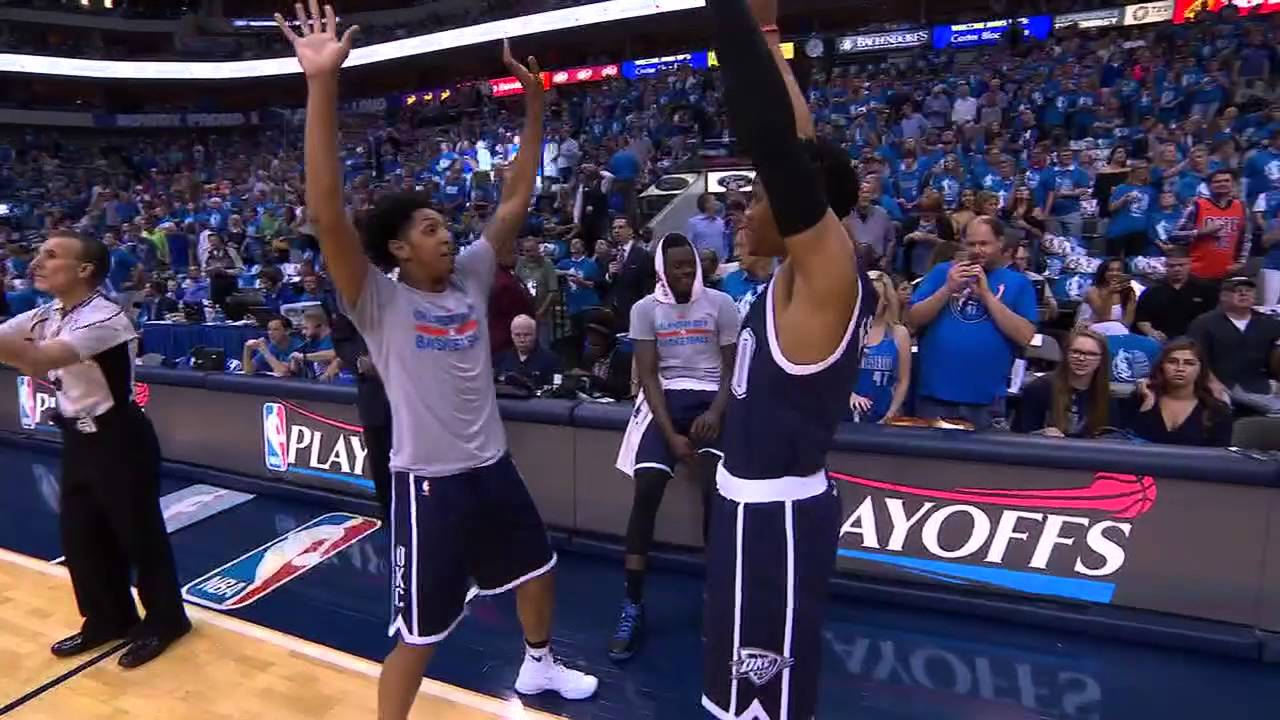 Russell Westbrook breaks out his dance routine uninterrupted