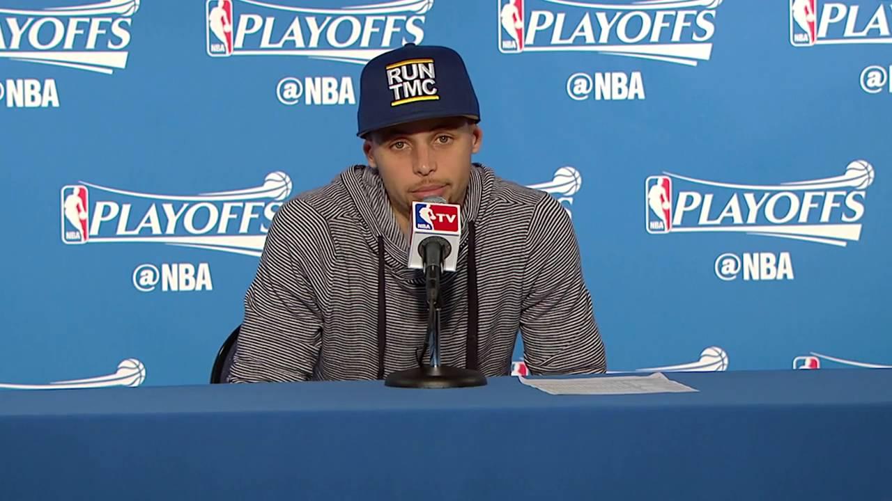 Stephen Curry, Draymond Green & Steve Kerr speak on Warriors vs. Rockets Game 1 win