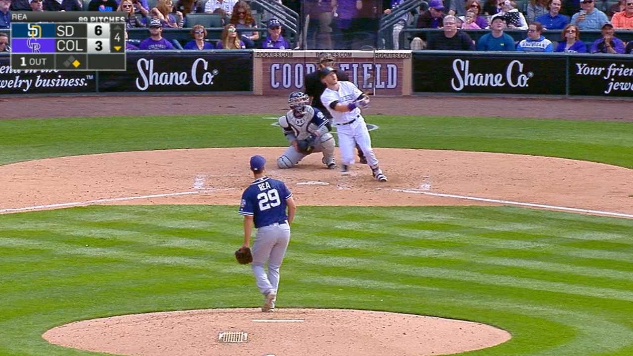 Trevor Story has now homered 6 times in 4 games