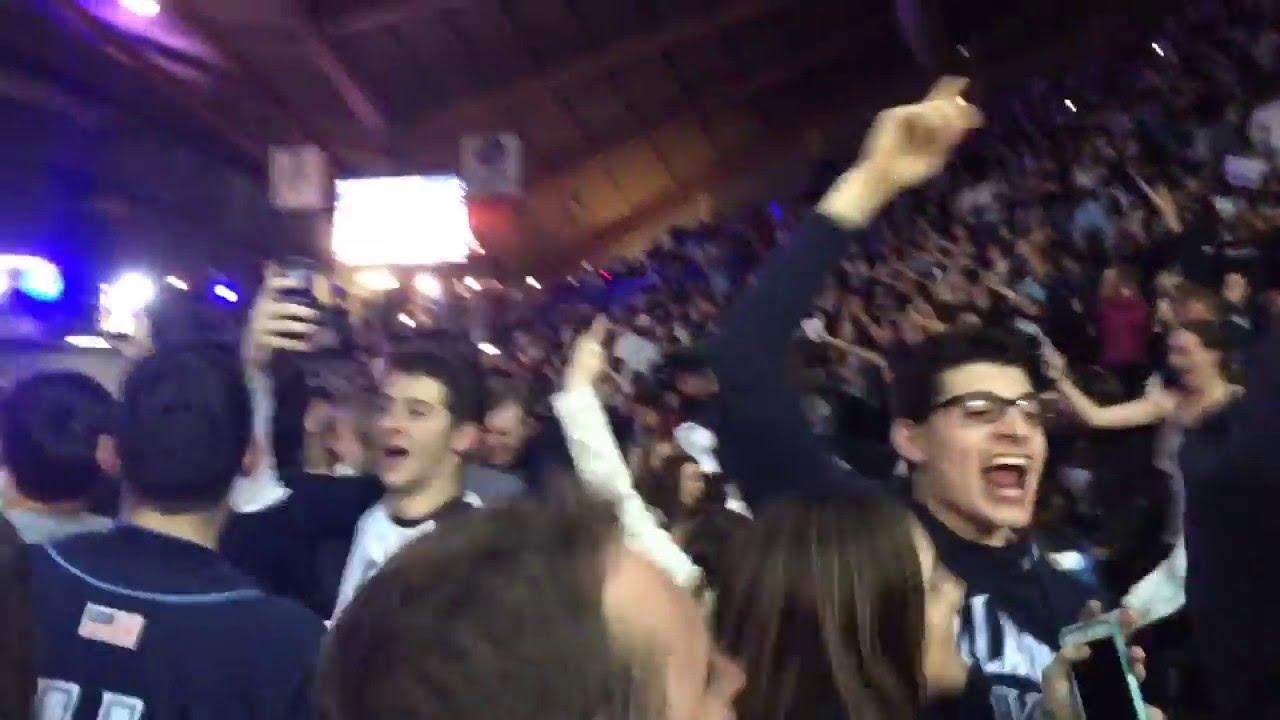 Villanova students erupt at watch party after buzzer beater