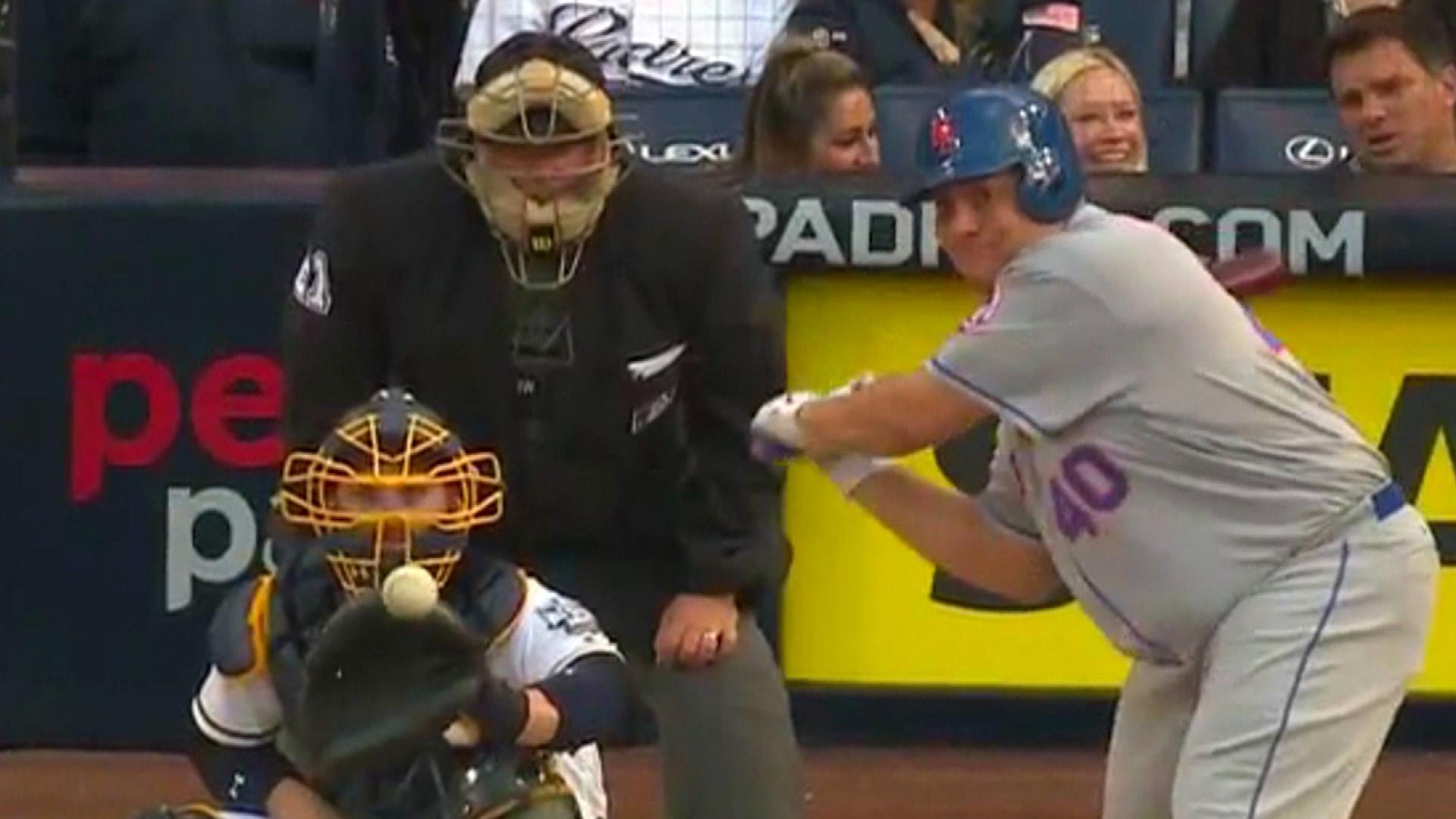 Bartolo Colon's home run gets flipped with the movie