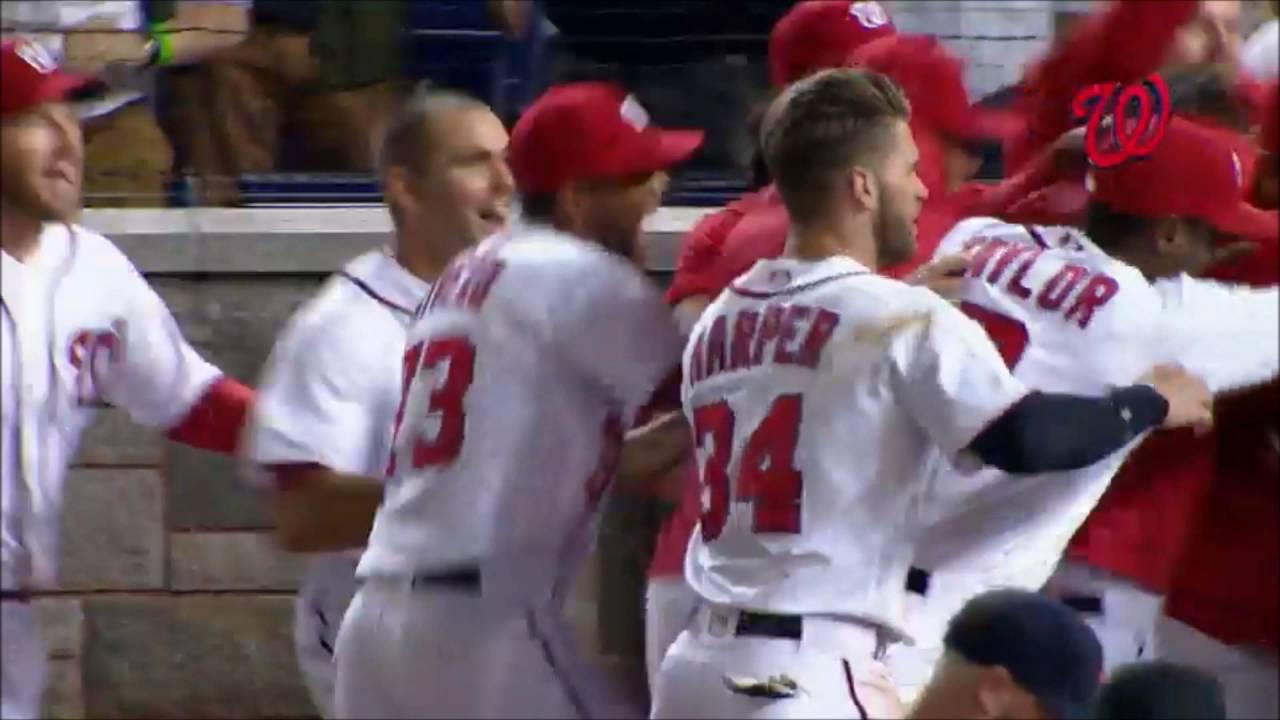 Bryce Harper tells umpire