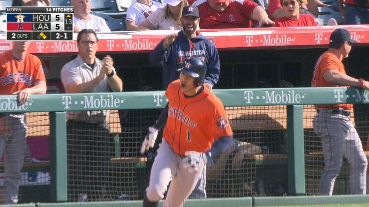 Carlos Correa belts three-run pinch hit shot in the 13th inning