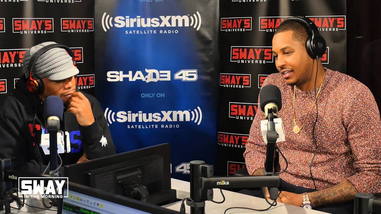 Carmelo Anthony speaks on the Knicks future with Sway In The Morning