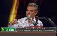 Colin Cowherd says Baylor football is what scares him about America